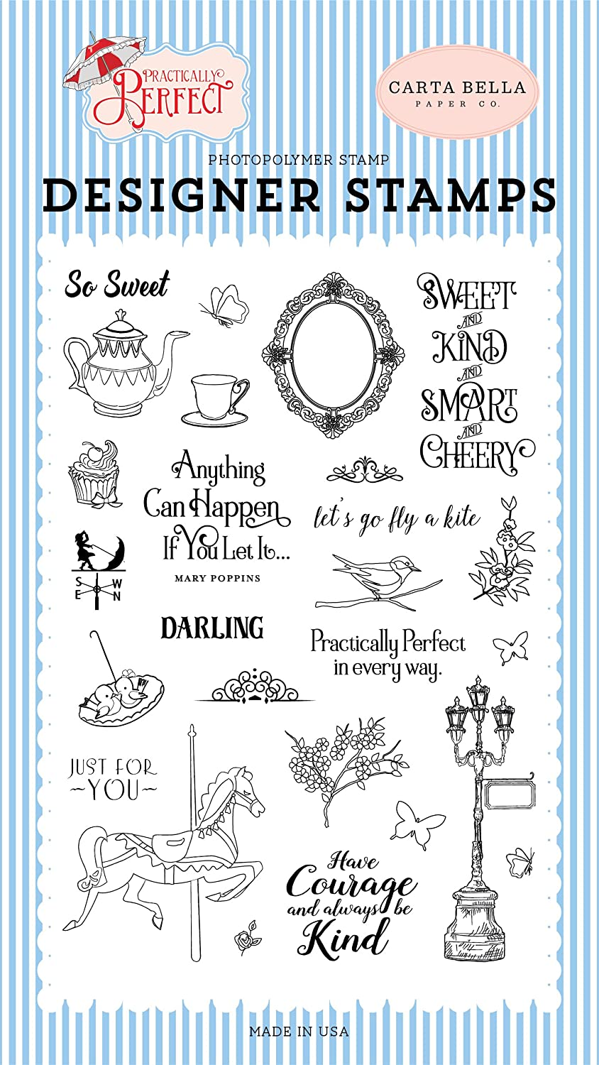 Carta Bella Paper Company Practically Perfect Stamp