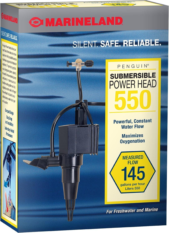 B0002565TS Marineland Penguin Submersible Power Head Pump for Aquariums 91xiSzwH8AL