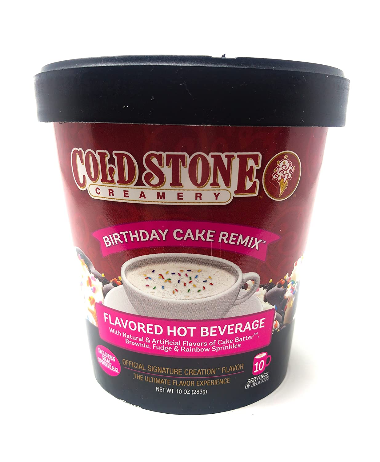Brilliant Cold Stone Creamery Birthday Cake Remix Hot Cocoa 283G Tub Amazon Personalised Birthday Cards Rectzonderlifede