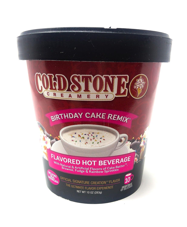 Astonishing Cold Stone Creamery Birthday Cake Remix Hot Cocoa 283G Tub Amazon Funny Birthday Cards Online Alyptdamsfinfo