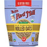 Bob's Red Mill Gluten Free Organic Old Fashioned Rolled Oats, 32 Ounce, 4 Count