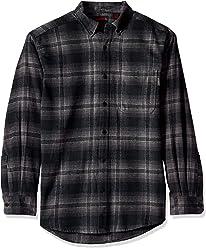 Wolverine Mens Hammond Long Sleeve Flannel Shirt