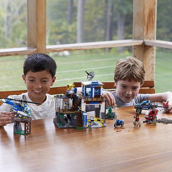 LEGO 乐高 CITY 城市系列 60174 山地特警总部 积木玩具 6.1折$54.97 海淘转运到手约¥504