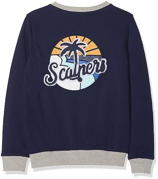 Scalpers Vintage, Sudadera para Niños, Azul (Navy), años (Tamaño del Fabricante:12): Amazon.es: Ropa y accesorios
