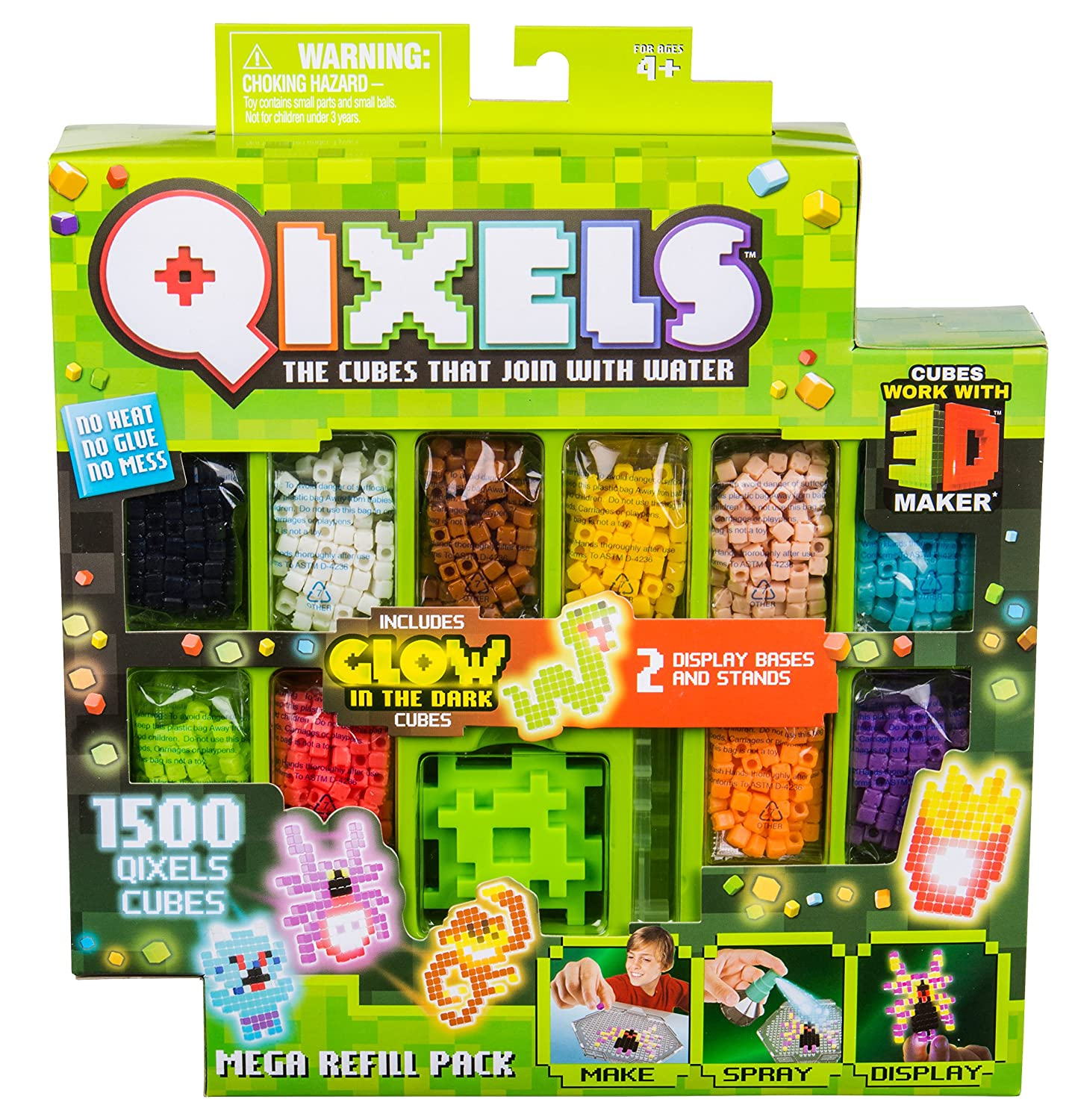 Qixels 87097 Mega Refill Pack Character Options
