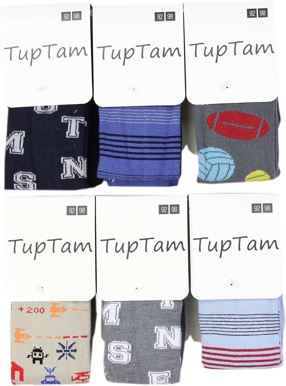 Pack de 6 TupTam Leotardos Lisos y Estampados para Ni/ño
