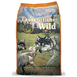 1. Taste of the Wild Dog Food for Puppy