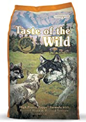 1. Taste of the Wild Grain-Free Dry Dog Food for Puppy