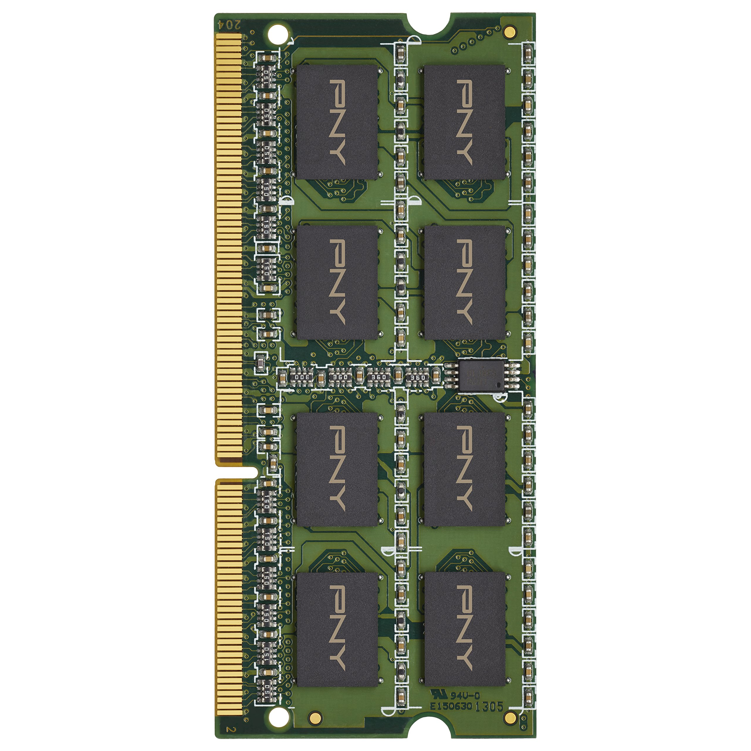 PNY Performance 4GB DDR3 1333MHz (PC3-10666) CL9 Notebook Memory -MN4GSD31333