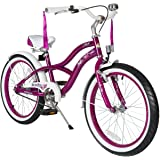 BIKESTAR® Premium Design Kids Bike ★ For cool kids aged from 6 years ★ 20s Deluxe Cruiser Edition ★ Creamy Violet