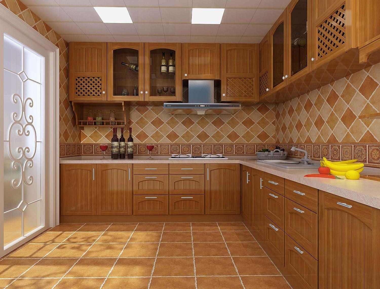 uxcell Satin Nickel Knob Pull Handle Hardware for Cupboard Cabinets Door