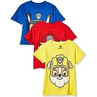 Kidorable Nickelodeon Toddler Boys' Paw Patrol Pack of Three T-Shirts