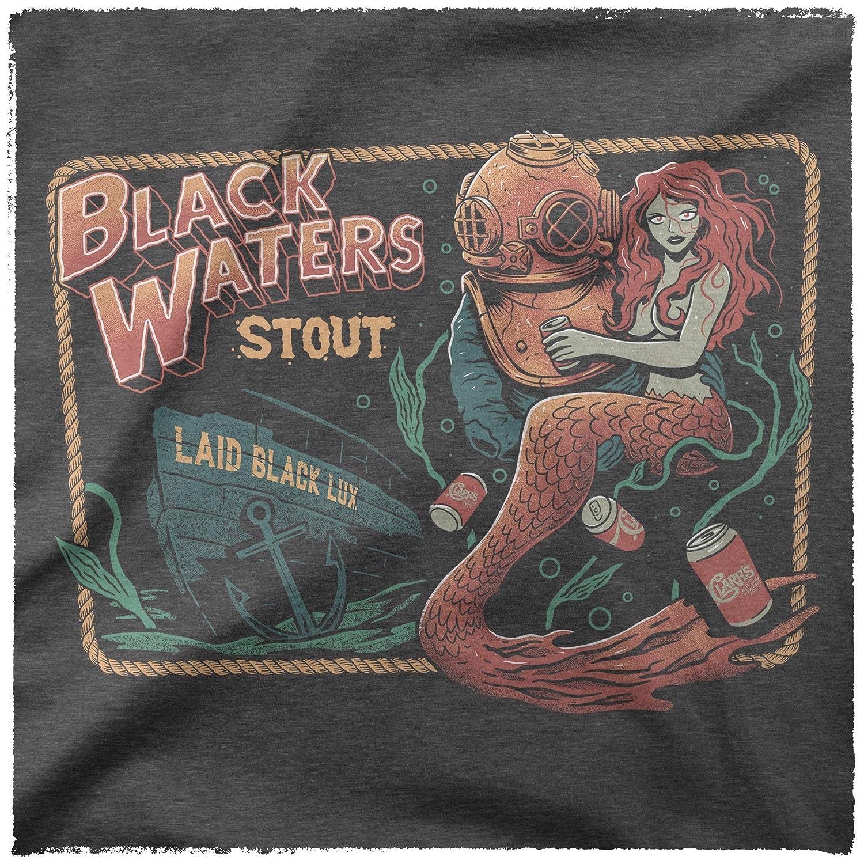 Dark Grey Heather Brewery Black Waters Clarks Bait Shop