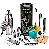 Mixology Bartender Kit: 14-Piece Cocktail Shaker Set - Bar Tool Set For Home and Professional Bartending - Martini…
