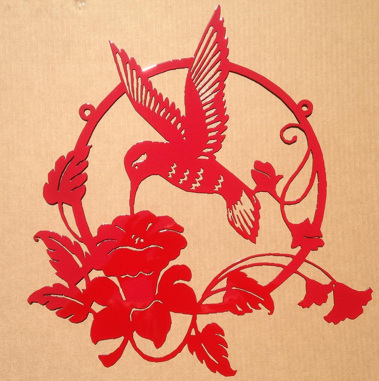 Unusual Red Metal Wall Art Ideas - The Wall Art Decorations ...