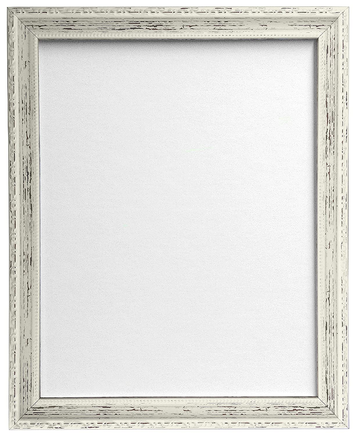 frames by post shabby chic picture photo and poster frame distressed white a3 amazoncouk kitchen home - White Vintage Picture Frames