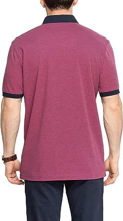 Lc Waikiki Purple Cotton Shirt Neck Polo For Men