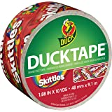 Duck Brand 284313 Skittles Duct Tape, 1.88 Inches x 10 Yards, Single Roll