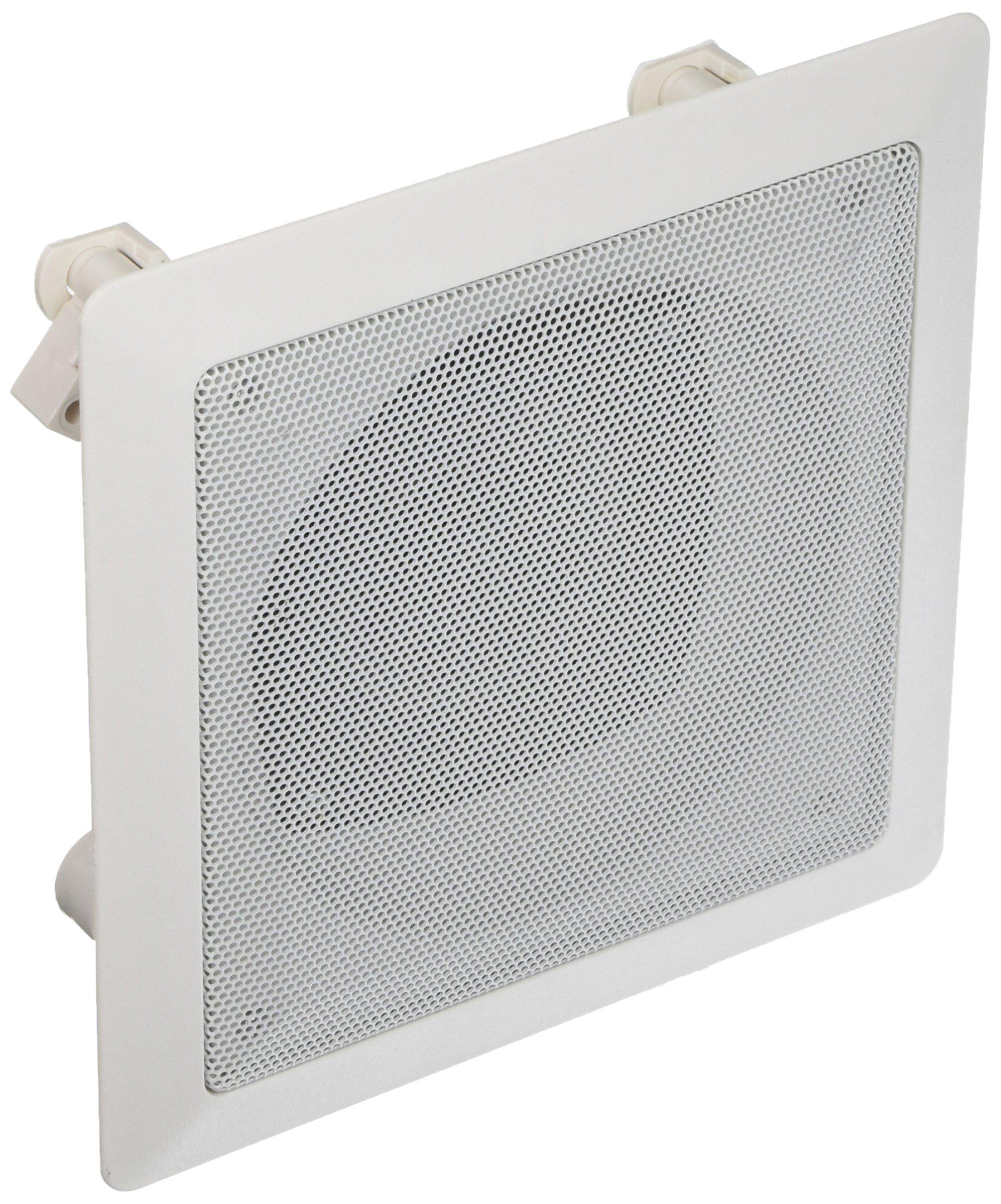 Acoustic Audio CS-i42S In Ceiling Square 2-Way Speaker (White)