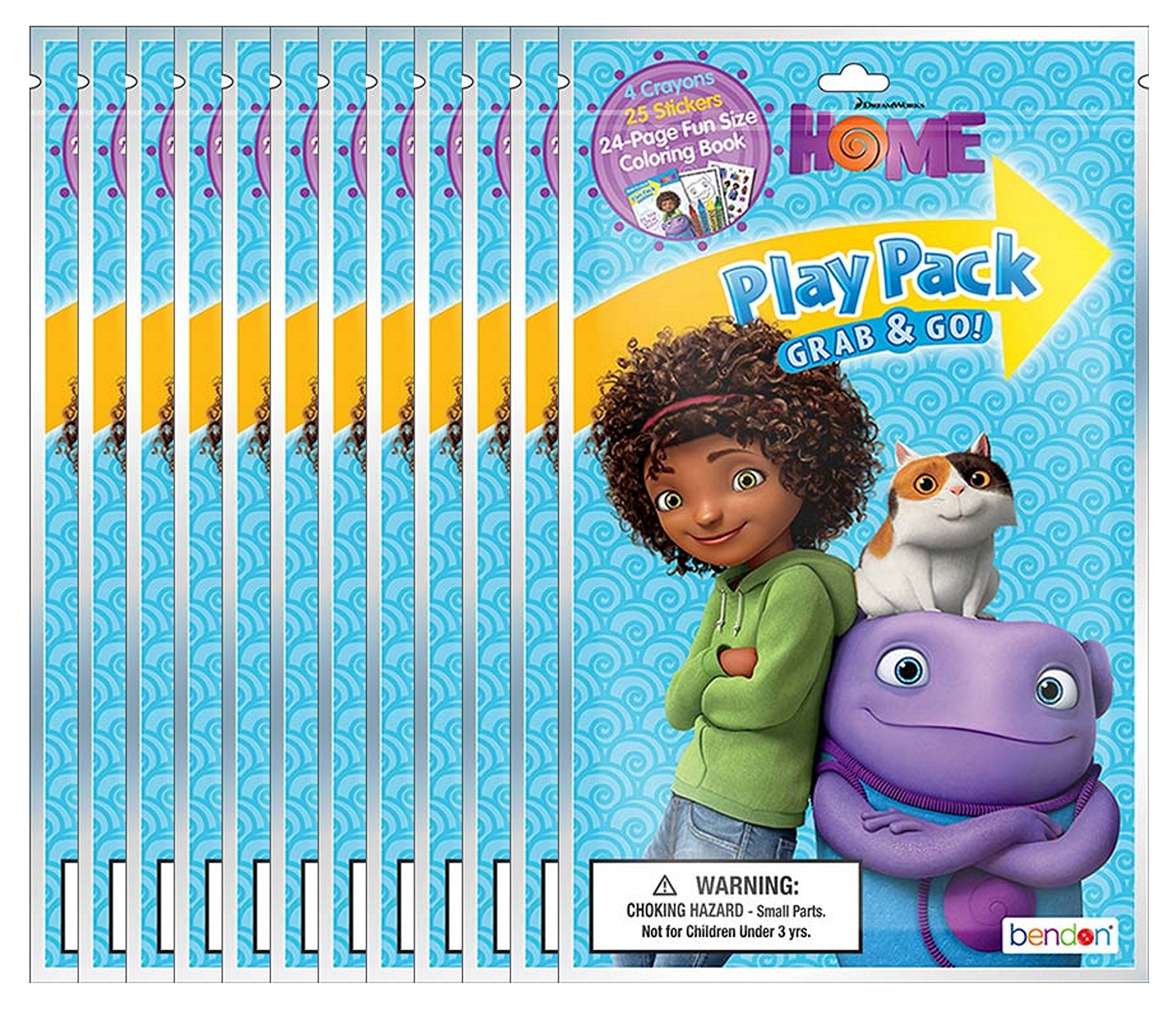 Dreamworks Home Grab and Go Play Packs (Pack of 12)
