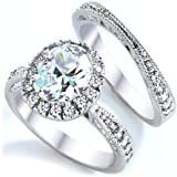 3 Carat Grade AAAAA CZ Oval Cut with Pave