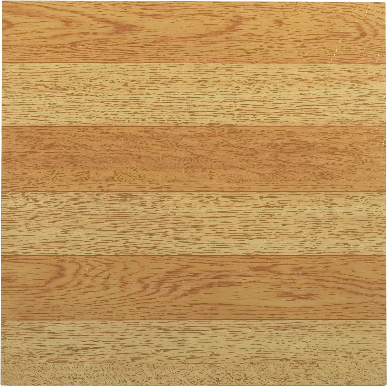Achim Home Furnishings FTVWD21420 Nexus 12-Inch Vinyl Tile, Wood Light Oak Plank-Look, 20-Pack