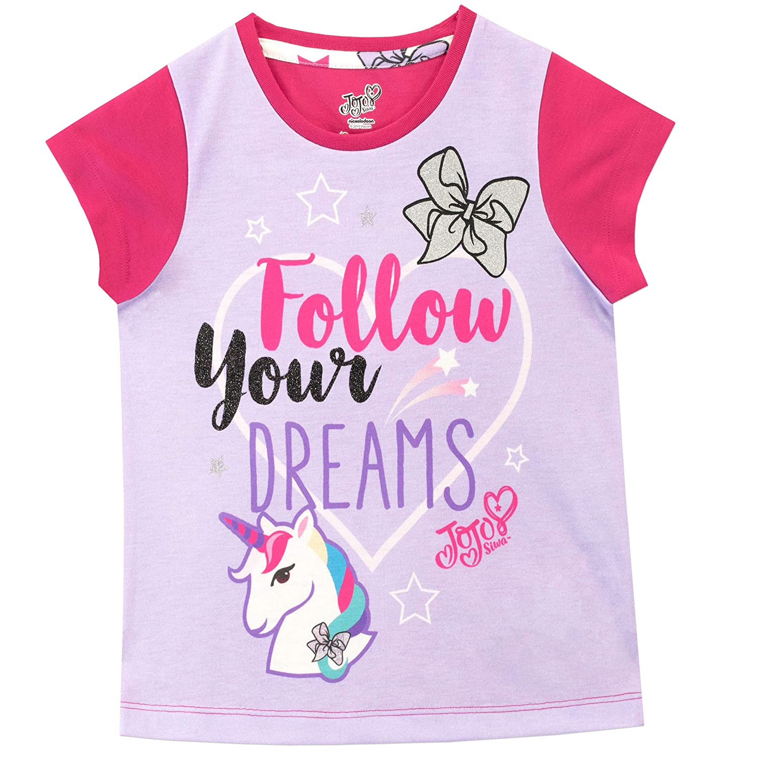 JoJo Siwa Girls Jo Jo Pajamas