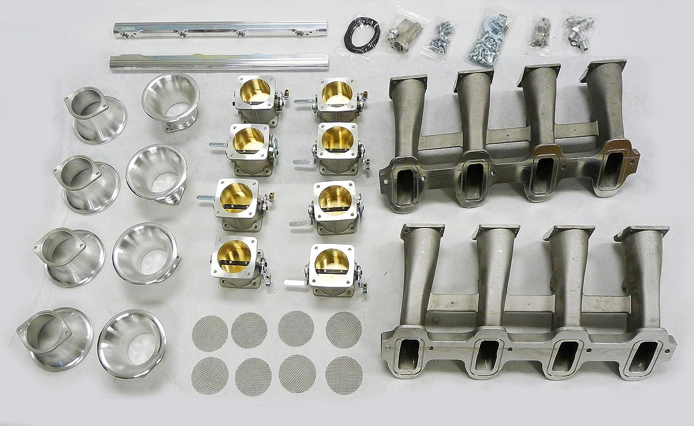 OBX ITB INDIVIDUAL THROTTLE BODY All Chevy Corvette LS3 SFD52 LS-3 GM 402 CID