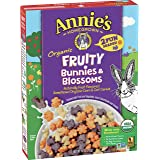 Annie's Organic Fruity Bunnies & Blossoms Cereal, 10 oz