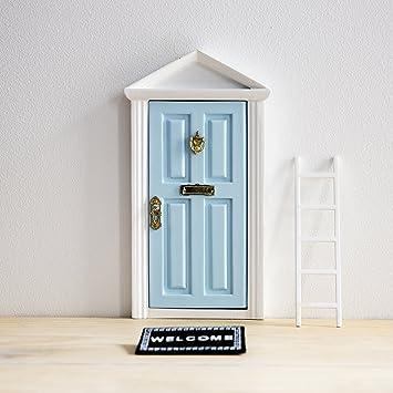Ratoncito Pérez: Puerta Mágica Azul + Pequeña Llave + Postal de ...