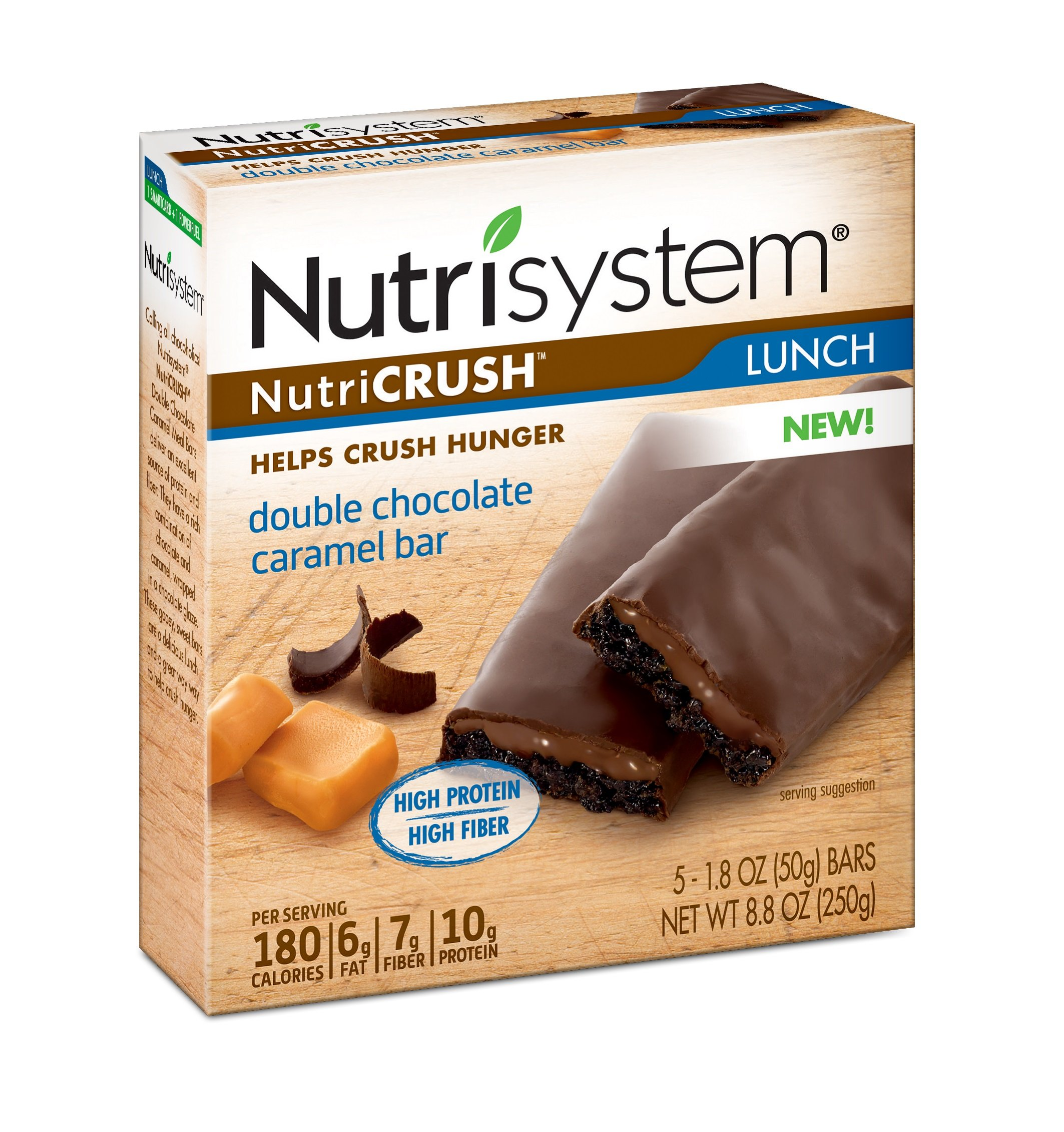 Nutrisystem® NutriCRUSH® Double Chocolate Caramel Bars, 30 ct.
