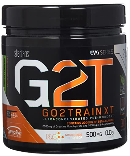 Starlabs Nutrition G2T Go2Train XT Summer Lemonade - 360 gr