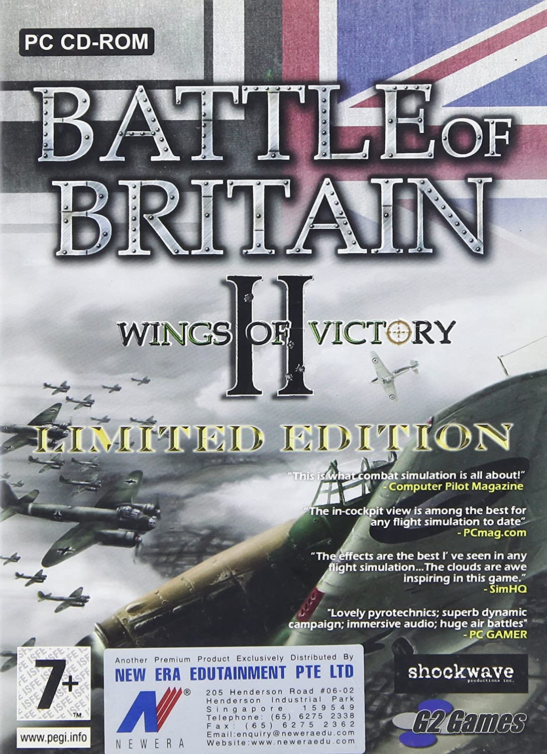 Amazon.com  Battle of Britain II Wings of Victory Limited Edition  Video  Games 7e6a67a66ed