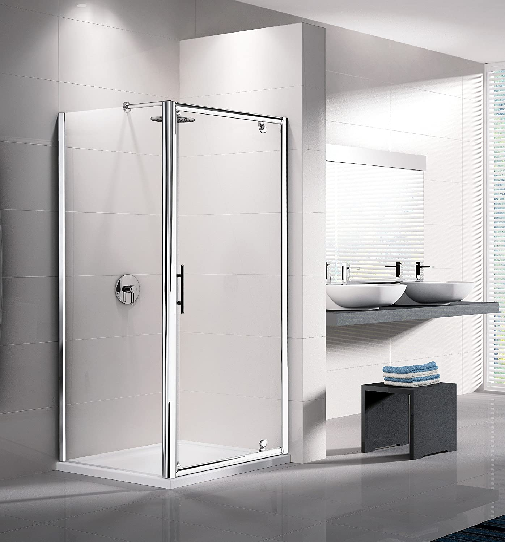 Giada H: mampara de ducha fijo 6 mm Novellini 60 A 160 cm: Amazon ...