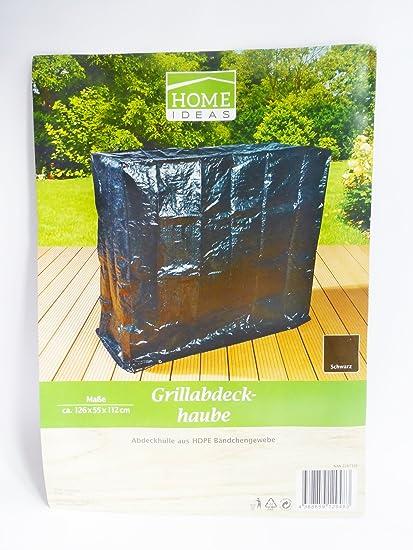 Home Ideas Barbacoa cubierta Lluvia – Hdpe lona de color: negro tamaño: 126 x