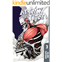 Attack on Titan Vol. 3 book cover