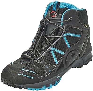 67f16149 Mammut Unisex Kids' Nova Mid GTX High Rise Hiking Boots, Grey (Graphite/