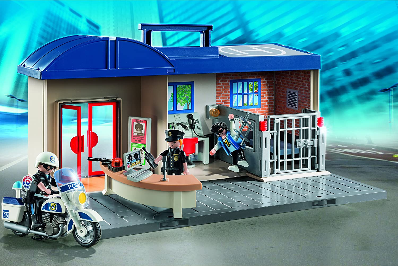 Playmobil Megaphone Holder x SYSTEM POLICE STATION 3159 3165 4263 4264 Police