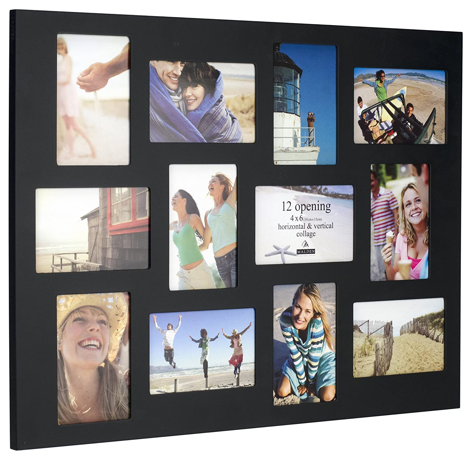 Amazon.com - Malden 4x6 12-Opening Collage Picture Frame - Displays ...