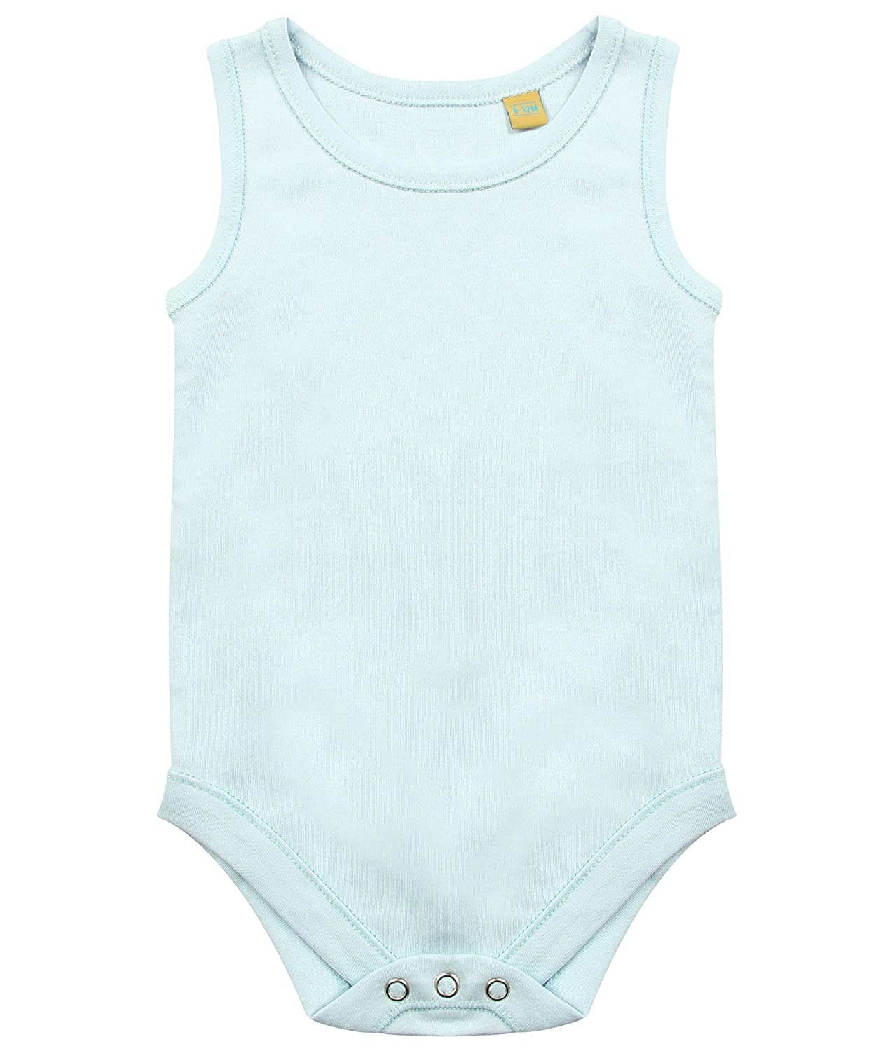 Larkwood Plain Baby Body Vest