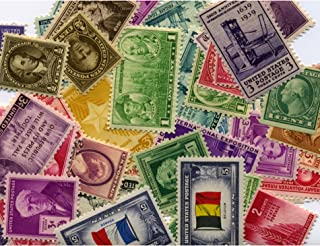 product image for American Coin Treasures 40 U.S. Postage Stamps from The 1910's, 1920's, 1930's and 1940's