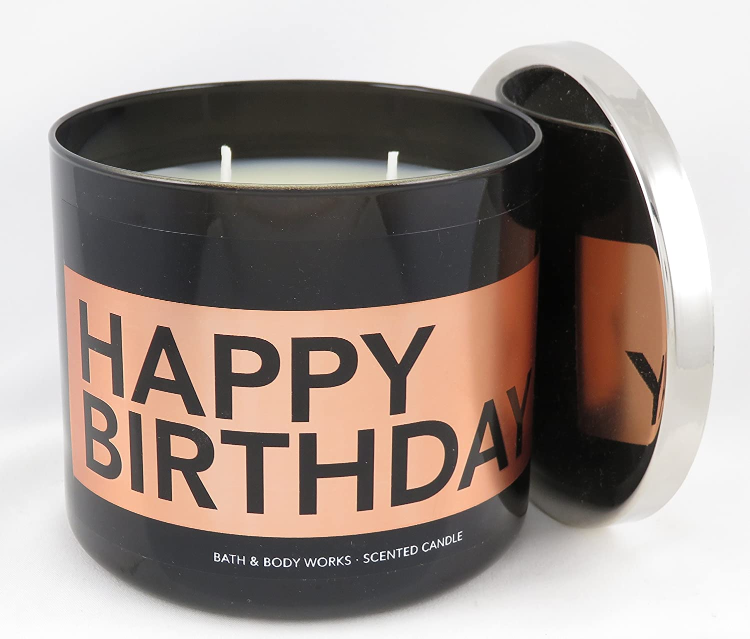 Bath Body Works Candle 3 Wick 145 Ounce Happy Birthday Buttercream Icing