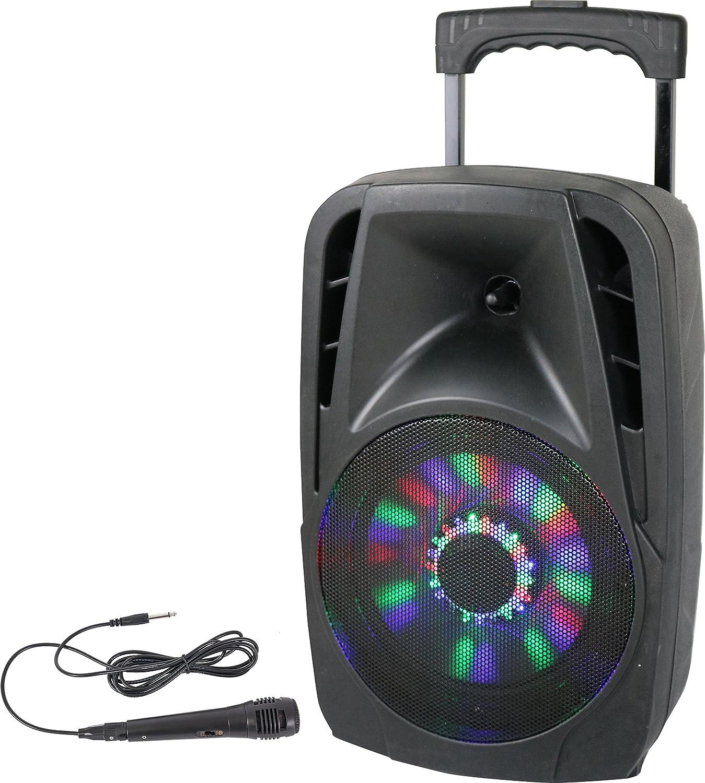 Party LED Megafonía portátil pulgadas