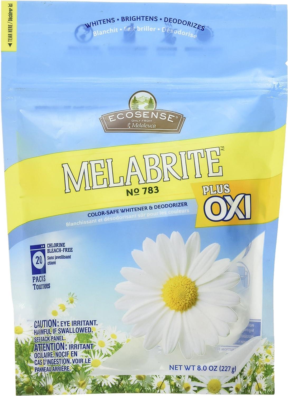Melaleuca Melabrite Color-safe Laundry Whitener & Deodorizer Plus OXI 20 Packs 8 Oz