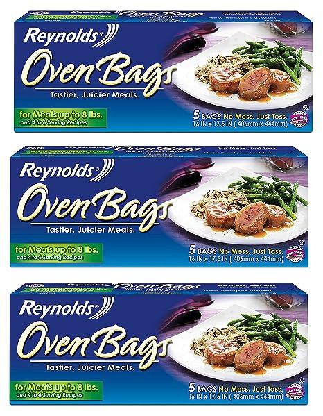 Amazon.com: Reynolds Nylon 510 Turquía tamaño bolsa de horno ...