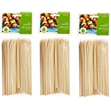 Fox Run Brands Bamboo Skewers cmBAkh, 6-inch (set of 300)