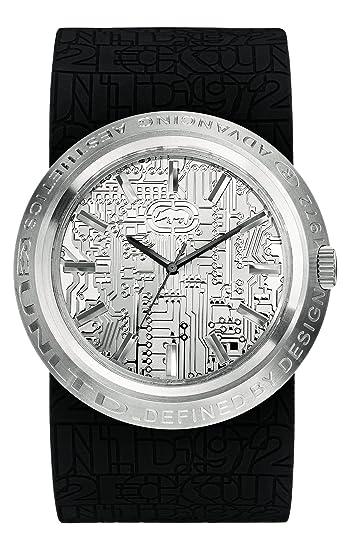 Ecko Unlimited Reloj Análogo clásico para Hombre de Cuarzo con Correa en Silicona E11534G1S: Amazon.es: Relojes
