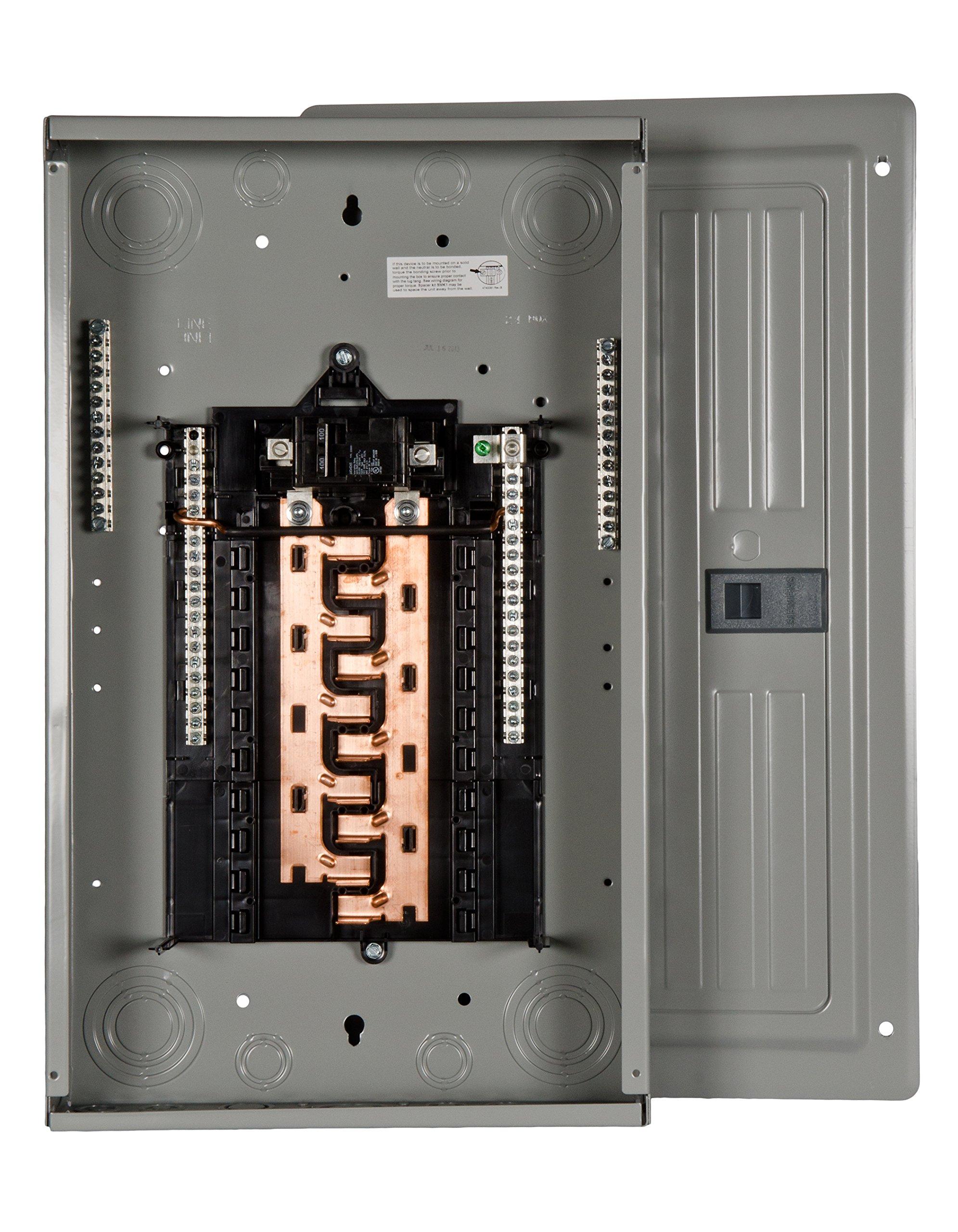 P2020B1100CU 100-Amp 20-Space 20-Circuit Main Breaker Load Center