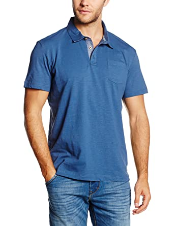 Tom Tailor Easy Polo, Azul (Ensign Blue 6865), Small (Talla del ...