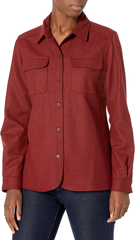 1930s Style Blouses, Shirts, Tops | Vintage Blouses Pendleton Womens Board Shirt $153.99 AT vintagedancer.com